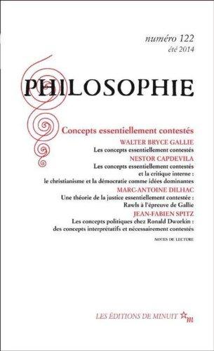 Philosophie 122: Walter Bryce Gallie;