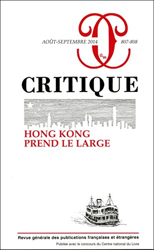 REVUE CRITIQUE NO.807-808: COLLECTIF