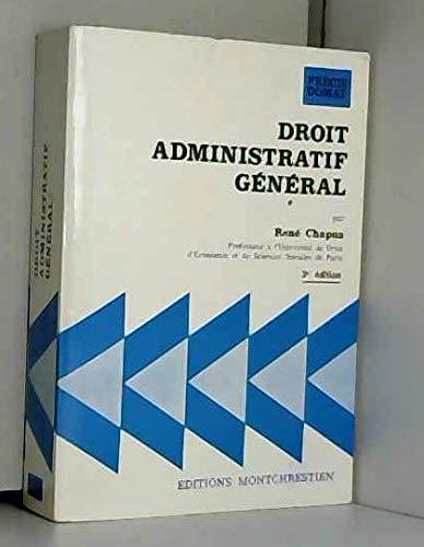 9782707603678: Droit administratif general (Precis Domat) (French Edition)