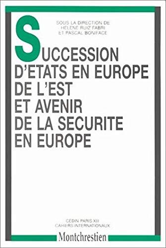 succession d'etats en europe