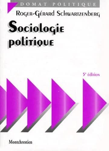9782707610560: Sociologie politique, 5e édition