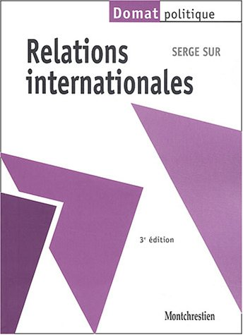 9782707613516: Relations internationales