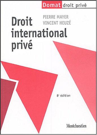9782707613882: Droit international privé