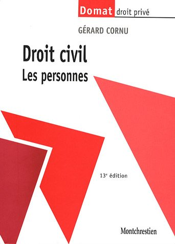9782707615770: Droit civil : Les personnes