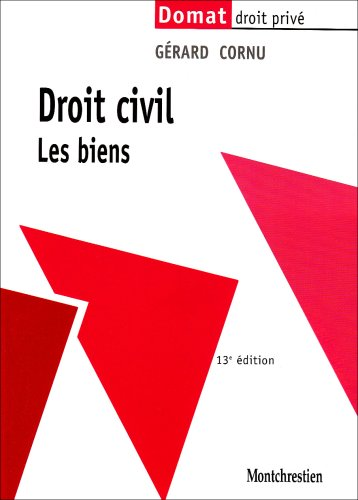 9782707615787: Droit civil : Les biens