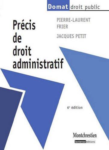 9782707616777: Précis de droit administratif