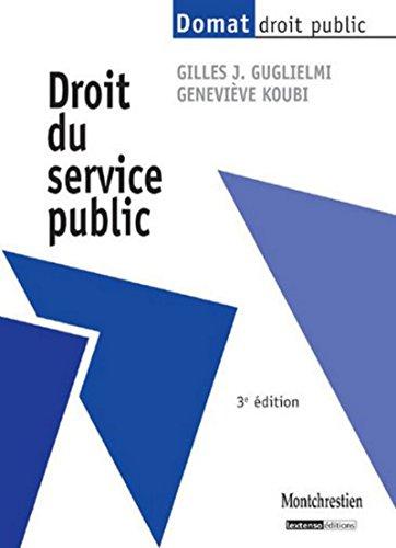 9782707616852: Droit du service public