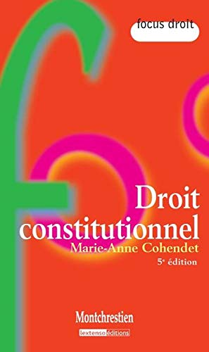 9782707616913: Droit constitutionnel (French Edition)