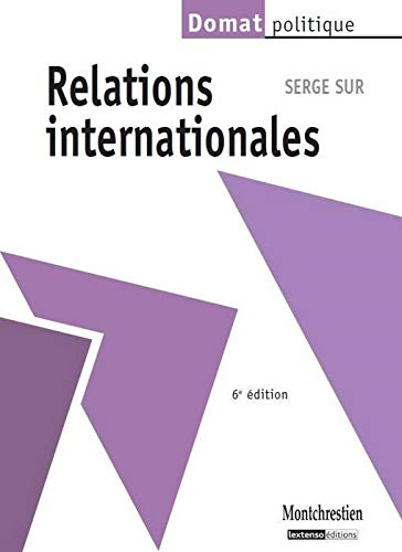 9782707617095: Relations internationales