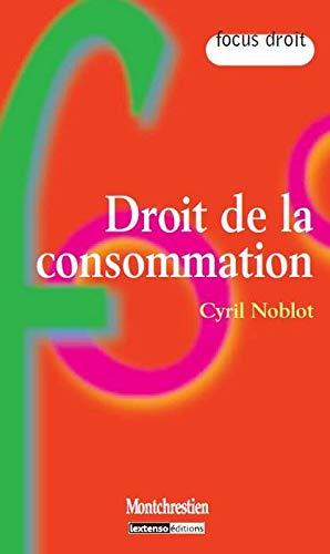 droit de la consommation: Cyril Noblot
