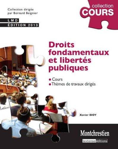 9782707617958: Droits fondamentaux et libertés publiques