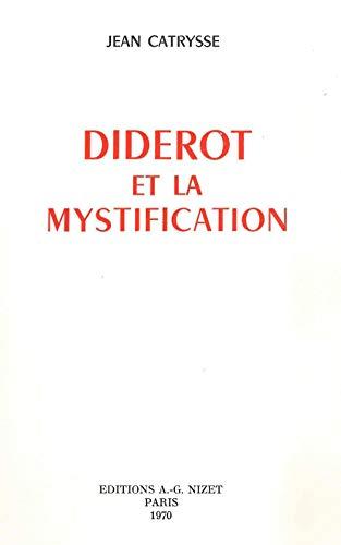 Diderot et la Mystification: Catrysse, Jean