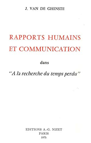 9782707802668: Rapports Humains et Communication (French Edition)