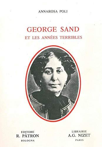 George Sand et les années terribles.: SAND (George)]. POLI
