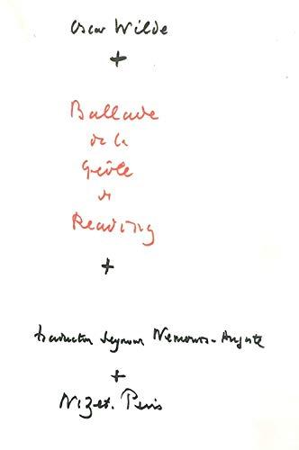 9782707803870: Ballade De La Geole De Reading (French Edition)