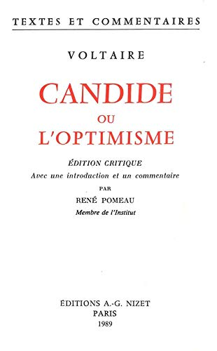 9782707804761: Candide (French Edition)