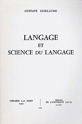 9782707810441: Langage et Science du langage