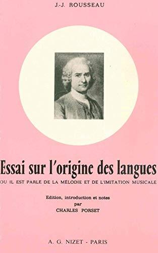 9782707810991: Essai sur l'Origine des Langues