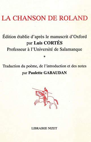 9782707811875: La Chanson de Roland