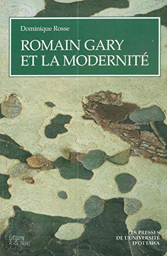 9782707812063: Romain Gary et la modernité