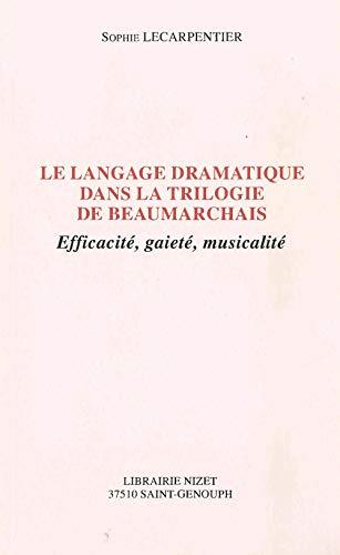 Le langage dramatique dans la trilogie de: Sophie Lecarpentier
