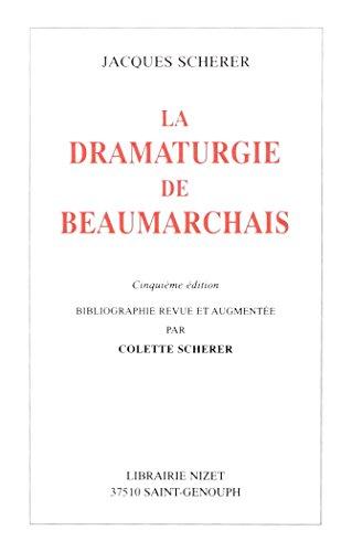 9782707812476: La Dramaturgie de Beaumarchais