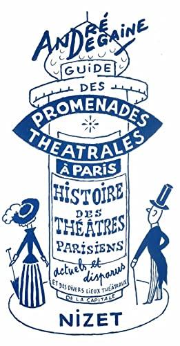 9782707812575: Guide des promenades th��trales � Paris