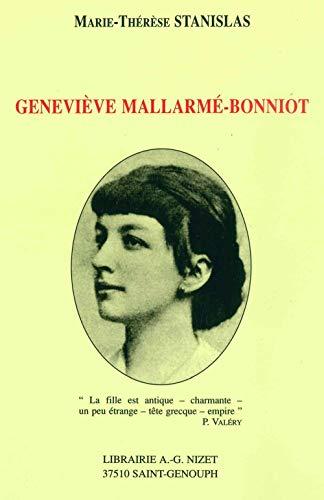 9782707812933: Geneviève Mallarmé-Bonniot