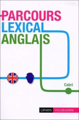 PARCOURS LEXICAL ANGLAIS: CABRI