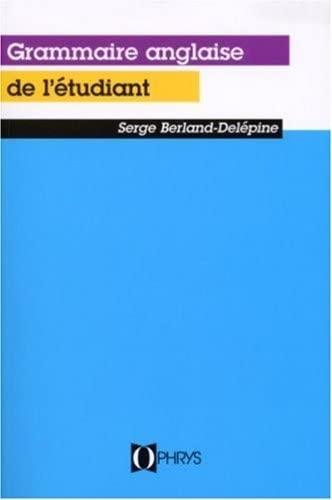 9782708006096: La Grammaire Anglais De l'Etudiant (Enjoy your grammar)