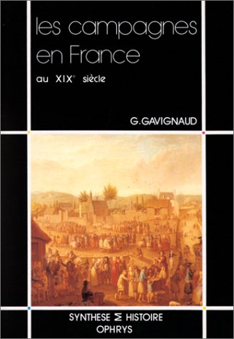 9782708006232: Les campagnes en France au XIXe si�cle, 1780-1914