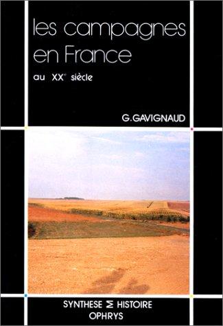 9782708006287: Les campagnes en France au XXe siècle, 1914-1989