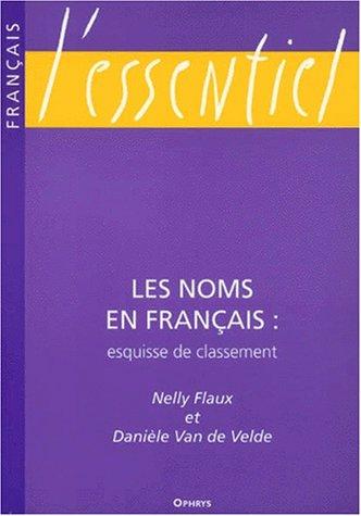NOMS EN FRANCAIS ESQUISSE DE CLASSEMENT: COLLECTIF