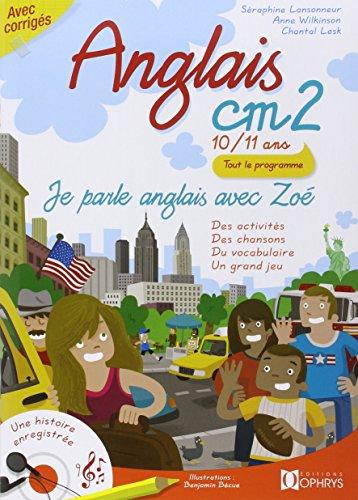 9782708012219: Anglais CM2 - 10/11 ans - Je parle anglais avec Zoé