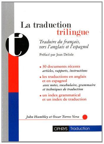 9782708013193: traduction trilingue