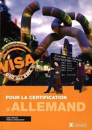 9782708013438: Visa pour la certification d'allemand (2CD audio)