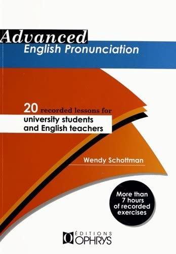 9782708013483: Advanced English Pronunciation