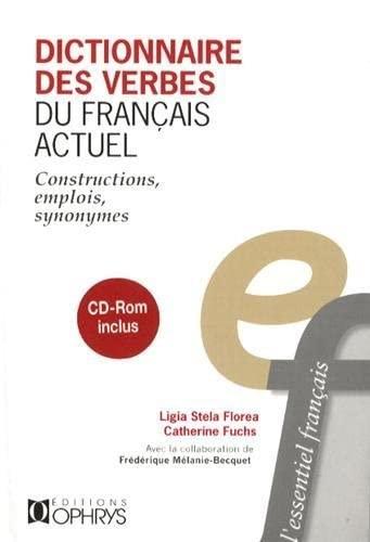 9782708013834: Dictionnaire des verbes du français actuel + cd-rom