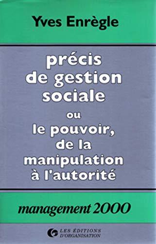 9782708106420: Precis de gestion sociale (French Edition)
