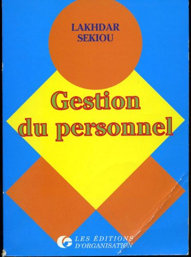 Gestion du personnel: Sekiou