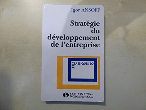 9782708110281: Strategie du developpemen
