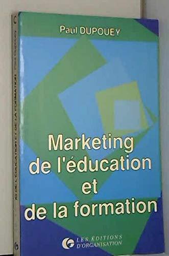 9782708111424: Marketing de l'éducation et de la formation