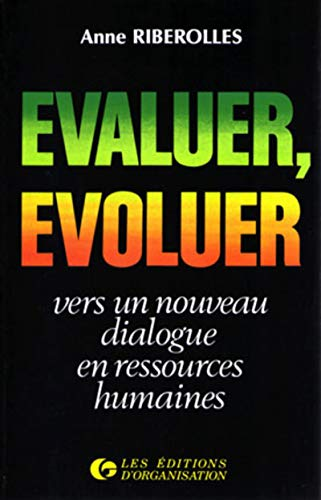 evaluer evoluer: Anne Riberolles