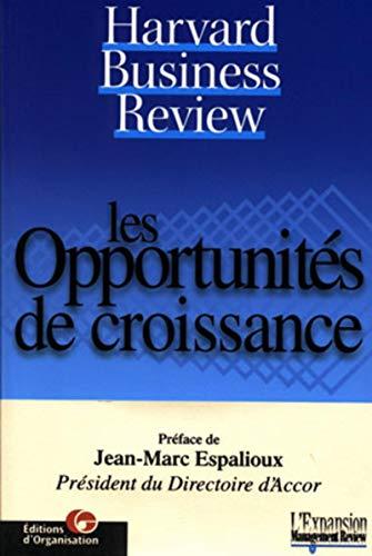 OPPORTUNITÉS DE CROISSANCE (LES): COLLECTIF