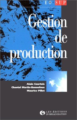 9782708118454: Gestion de production