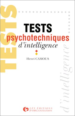 Tests psychotechniques d'intelligence