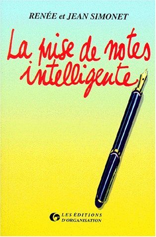 9782708120860: La prise de notes intelligente