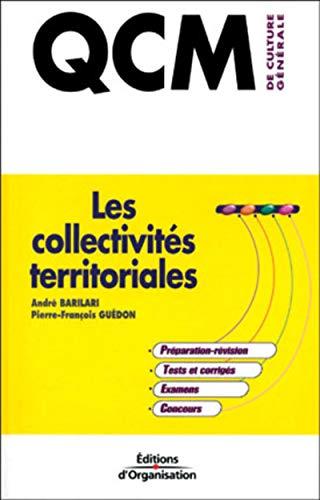9782708123366: QCM de culture général, tome 9 : Les collectivités territoriales