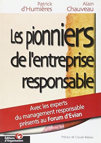 9782708125964: Les Pionniers de l'entreprise responsable