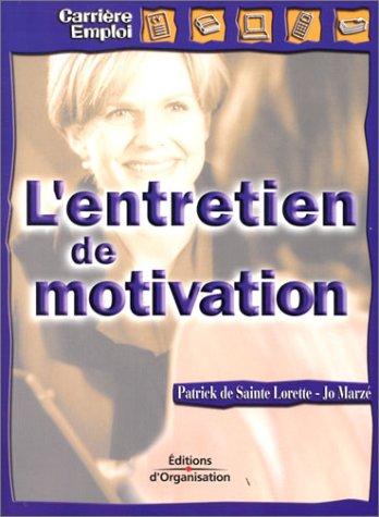 9782708126916: L'Entretien de motivation